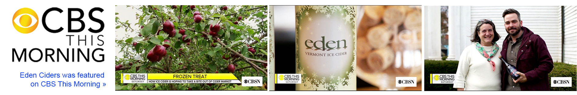 Eden Ciders on CBS This Morning