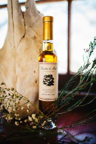 Custom Label Wedding Ciders