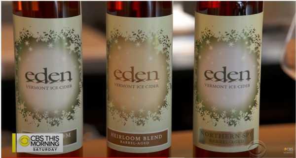 CBS News - Eden Ice Cider