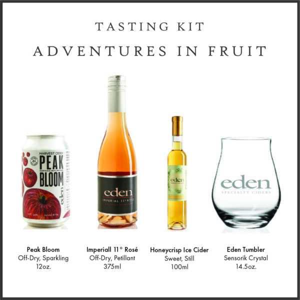 Adventures in Fruit Cider Tasting Kit